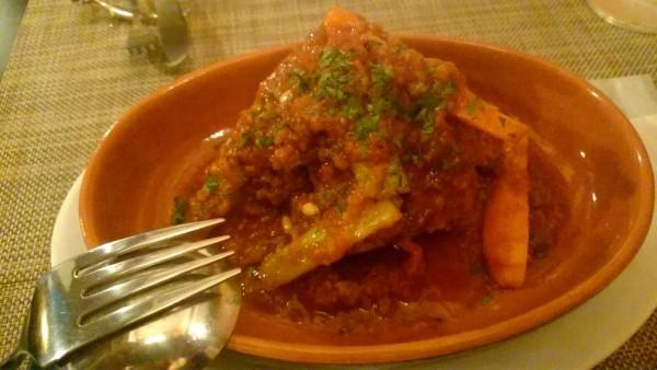 牛テールのトマト煮込みヴァルチナーラ