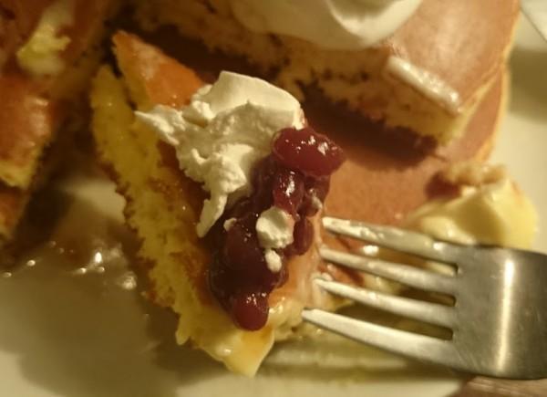 自家製ホットケーキ