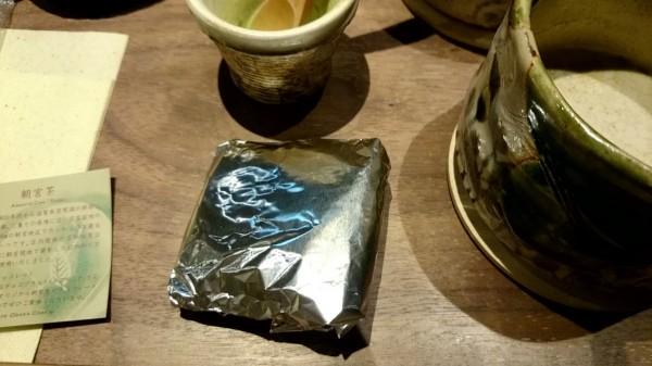 挽きたて緑茶セルフミキシング
