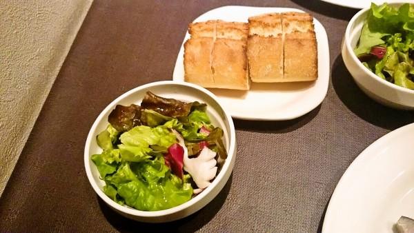 サラダ&パン