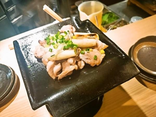 長州黒かしわ鶏の瓦焼き