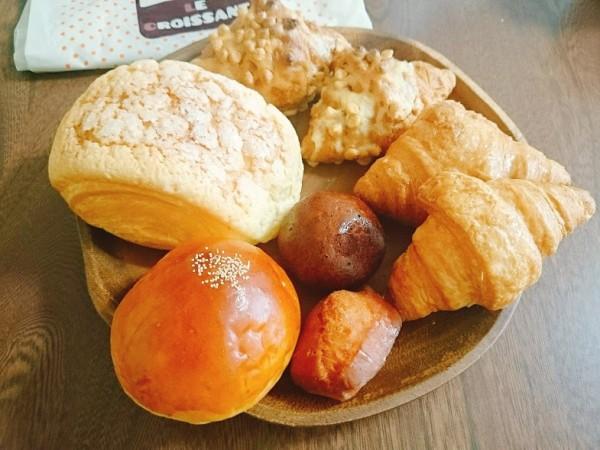 ル・クロワッサンのパン