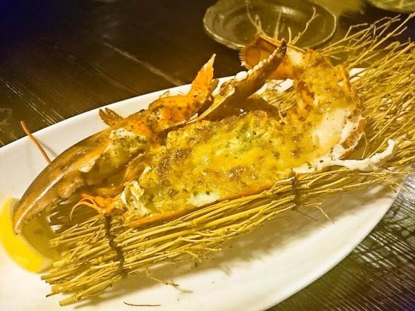 オマール海老のオーブン焼き 500円