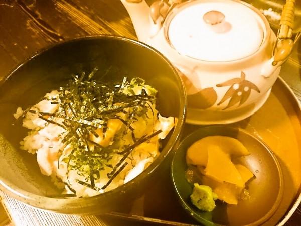 茶漬け(鮭) 490円