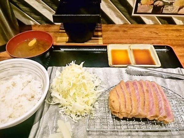 牛カツ定食 1,100円