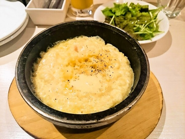 5種チーズの石焼リゾット 1,380円