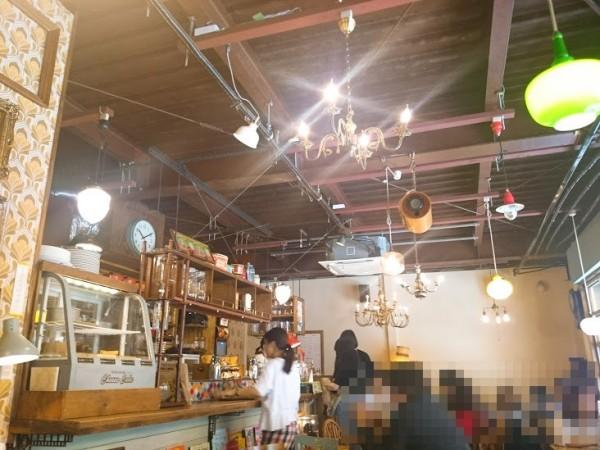 カフェトキオナ 店内