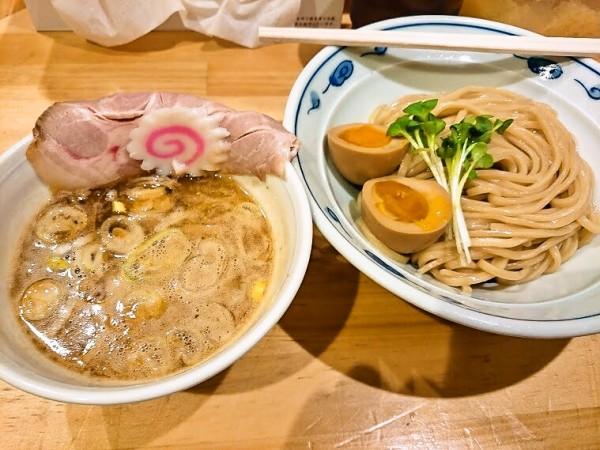 サバ濃厚鶏つけ麺150g 750円