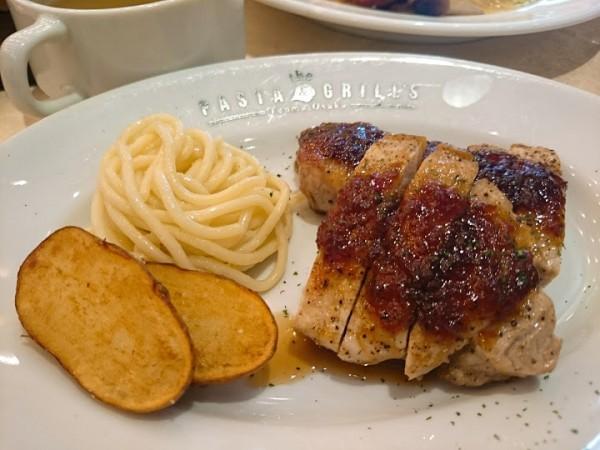 柔らかくて食べごたえ抜群な国産豚ロース肉のグリル