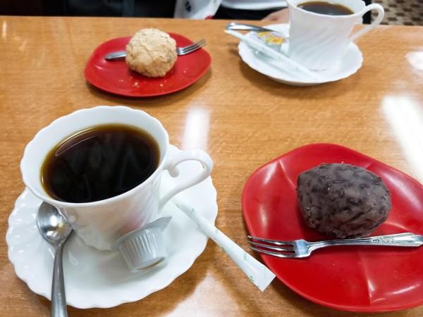 おはぎとコーヒーの絶妙な組み合わせ♡ほっこりセット