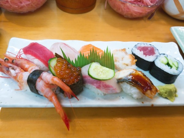 上定食1,000円(税別)