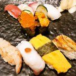 特上にぎり定食 1580円(税込)