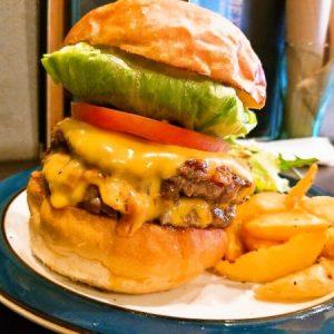 Wチーズバーガー 1,550円