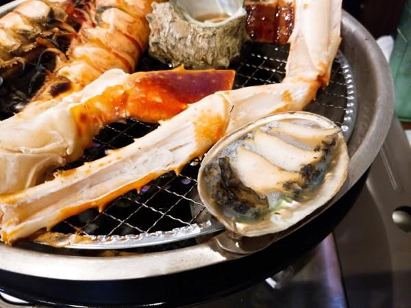 海鮮網焼き