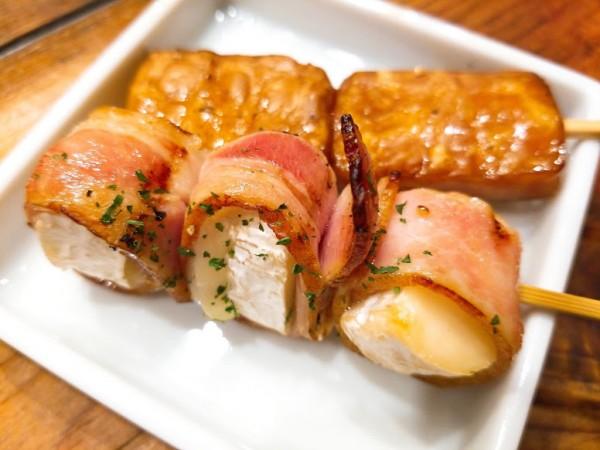 カマンベールチーズベーコン 238円