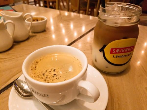 ホットコーヒー&カフェオレ