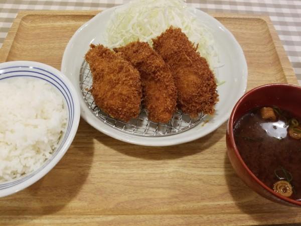 ひれかつ定食 950円